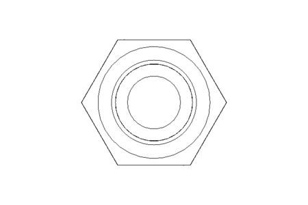 Hexagon screw M8x18 A2-70 DIN 933